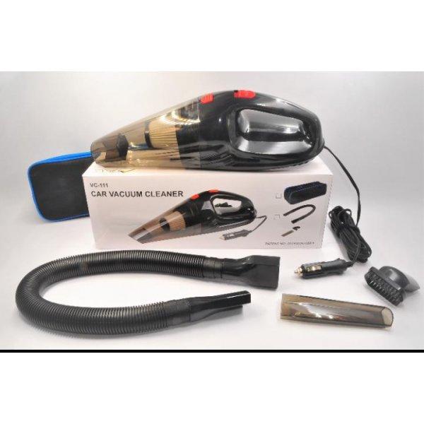 Aspiradora Manual para Carro Negra 12V  110V-24