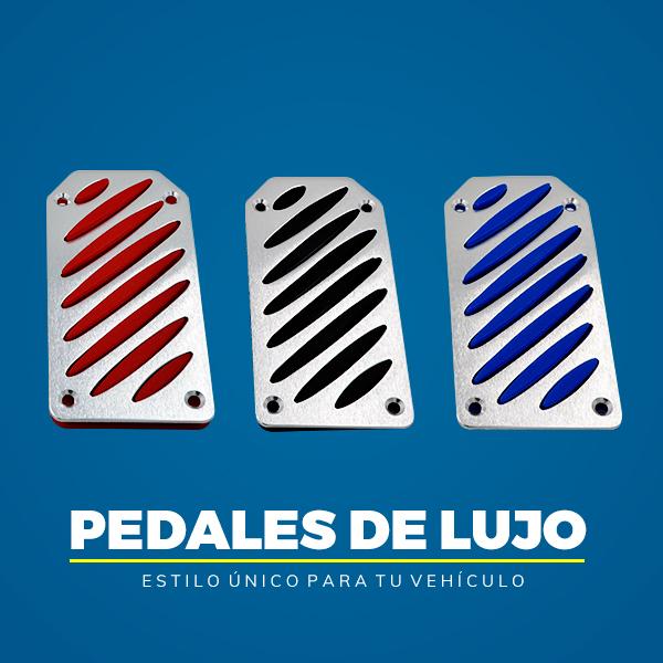 PEDALES LUJO PARA CARRO AUTOMATICO